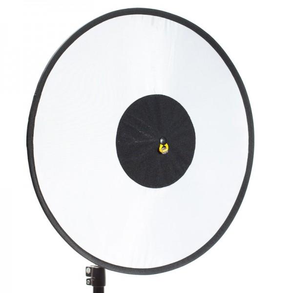 RoundFlash Dish faltbarer Beauty Dish Softbox Lichtformer für entfesselten Aufsteckblitz 45 cm