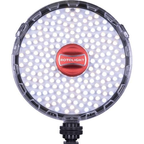 Rotolight Neo II LED-Videoleuchte Bi-Color mit 3150-6300 Kelvin und High Speed Sync Flash (HSS)