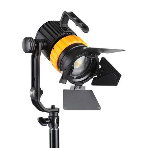 Falcon Eyes Bi-Color Mini LED Fresnel Lampe P-5AD 50W
