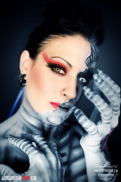 Bodypainting-Shooting - Medium