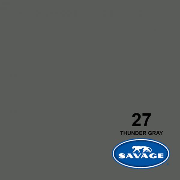 Savage Thunder Gray 11 x 2.72 m Hintergrund Rolle