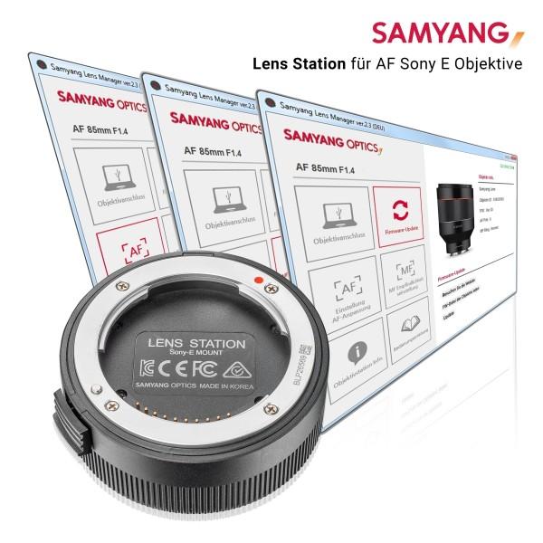 Samyang Lens Station für AF Sony E Objektive