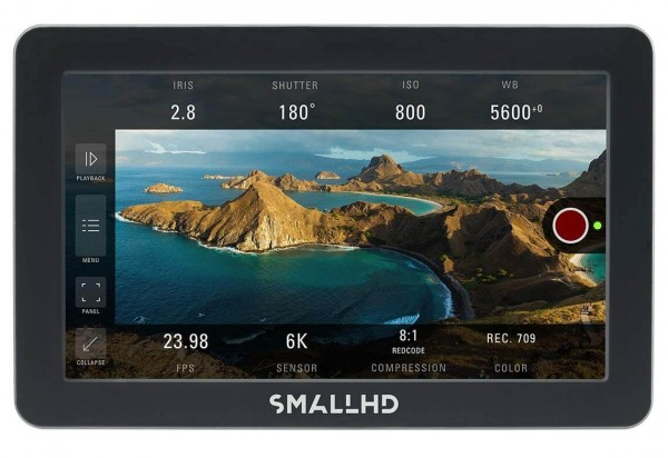 "SmallHD Focus Pro Monitor - 5"" Monitor Touch-Monitor, 1280x720, 800 nits"