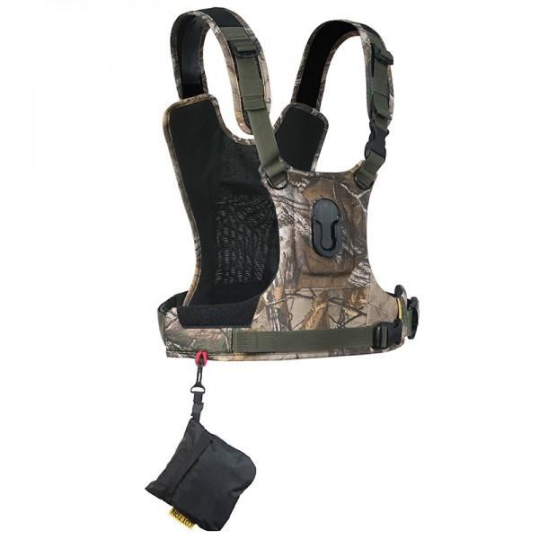 Cotton Carrier Camera Harness G3 Camo - Brustgeschirr als Tragesystem für 1 Kamera