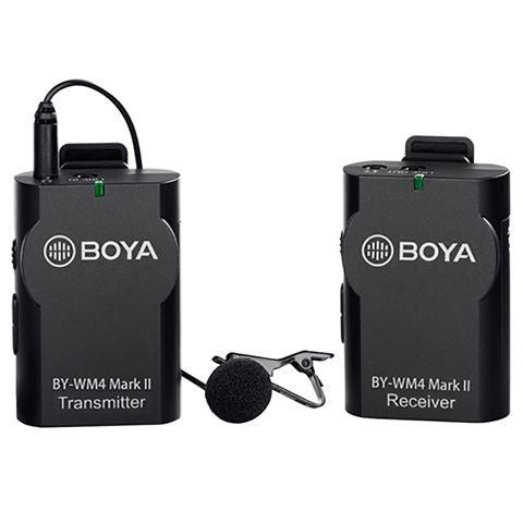Boya Mikrofon Drahtlos BY-WM4 Mark II für DSLR und Smartphone