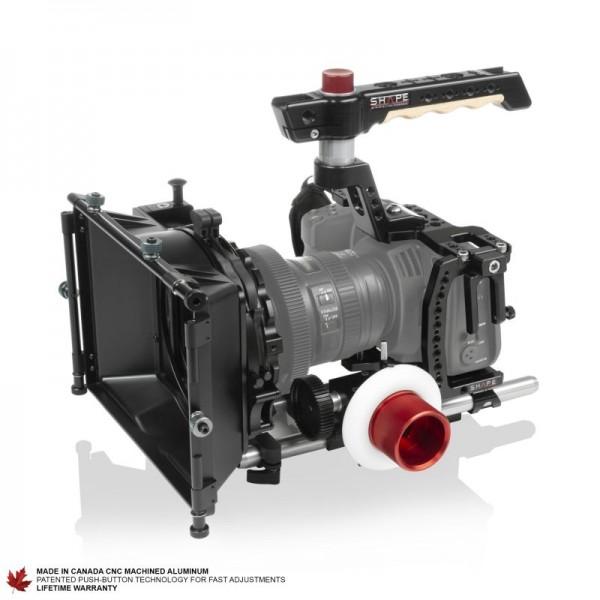 Shape Blackmagic Pocket Cinema 4K/6K Cage Kit, Matte Box, Follow Focus