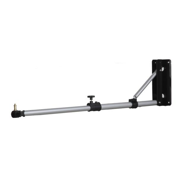 Walimex Pro Wand-/ Decken-Lampenstativ 70-120cm
