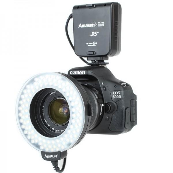 Amaran Halo LED-Ringblitz und Ringleuchte für Canon Kameras