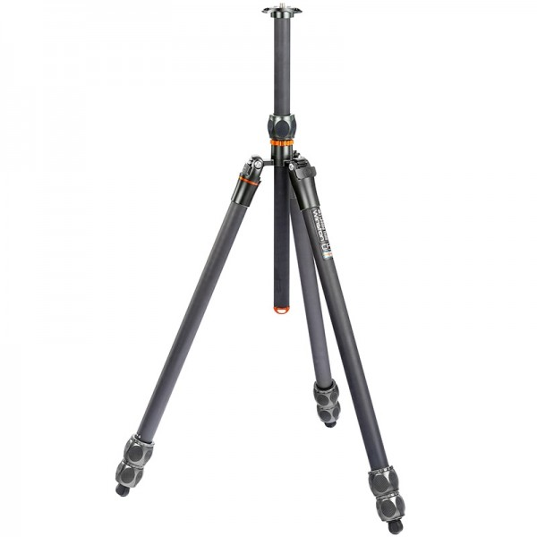 3 Legged Thing Eclipse Winston Professionelles Heavy-Duty-Kamerastativ aus Carbon inkl. Einbeinstati