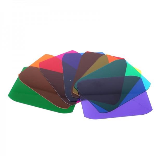 MagMod Creative Gels Farbfilter-Set für Aufsteckblitze mit 8x Farbfilter (Effektfilter)