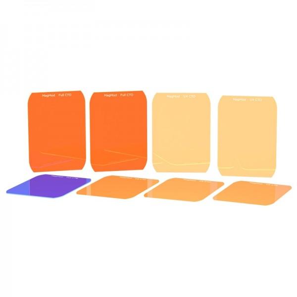 MagMod Advanced Gels - Farbtemperaturfilter-Scheiben für Aufsteckblitze