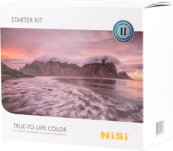 Nisi Filtersystem Starter Kit 100mm (ND- / Graufilter, ND- / Grauverlauffilter, 100mm)