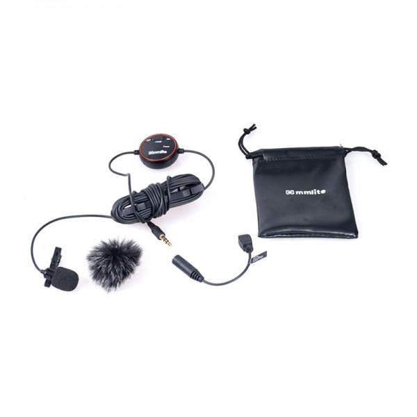 Commlite CVM-V03GP Lavalier-Mikrofon zum Aufstecken für DSLR-Kameras, DSLM-Kameras und GoPros