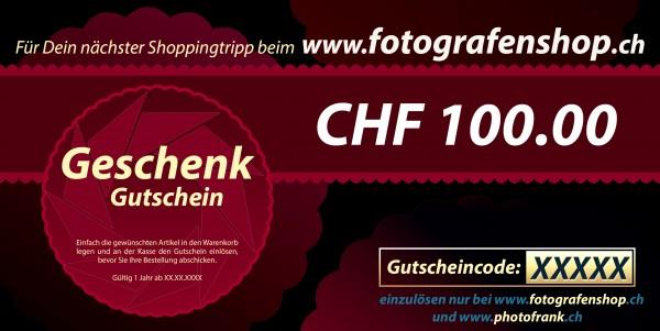 Geschenkgutschein CHF 100.00