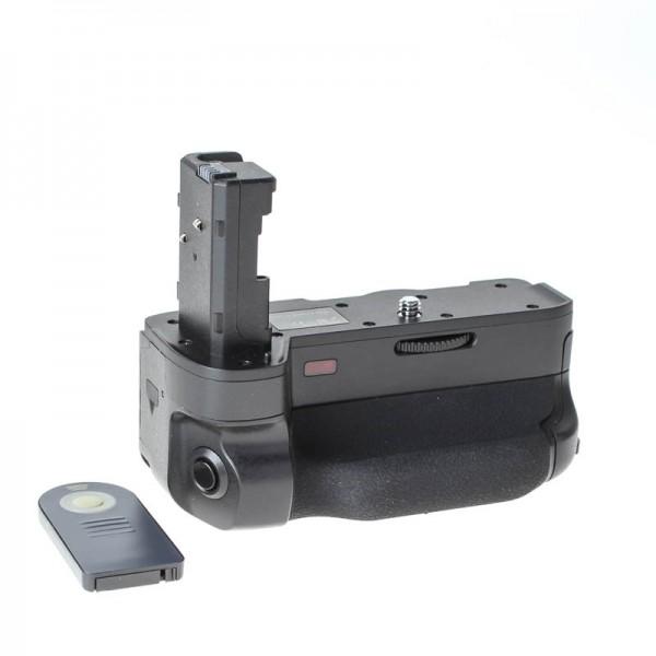 Quenox Batteriegriff (Akkugriff) für Sony Alpha a7 II, a7R II - inkl. Infrarot-Fernbedienung