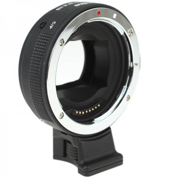 Autofokus-Objektivadapter mit AF-Umschalter für Canon-EOS-Objektiv an Sony-E-Mount-Kamera - Commlite