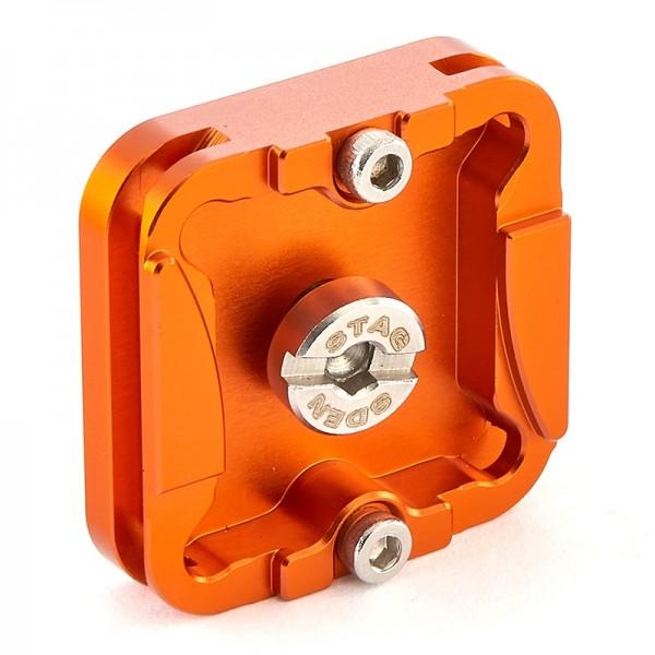 3 Legged Thing QR4 Schnellwechselplatte 38 x 38 mm, kompatibel mit Arca