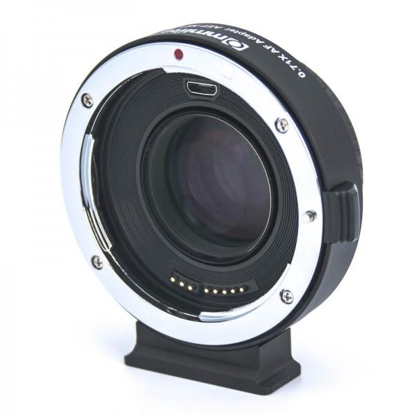 Autofokus-Objektivadapter mit Speed-Booster-Linsen für Canon-EOS-Objektiv an Micro-Four-Thirds-Kamer