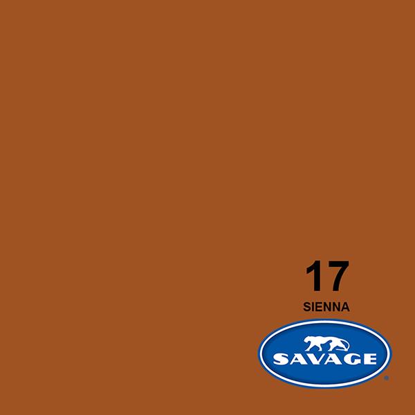 Savage Sienna Papier 11 x 2.72 m Hintergrund Rolle