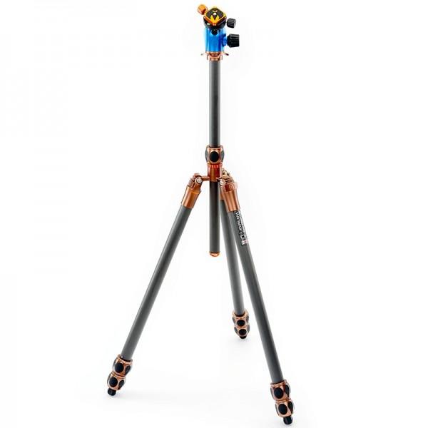 3 Legged Thing Equinox Winston Professionelles Heavy-Duty-Kamerastativ aus Carbon mit AirHed 360 Kug