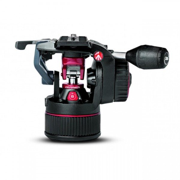 Manfrotto Nitrotech N8 Fluid Video Neiger