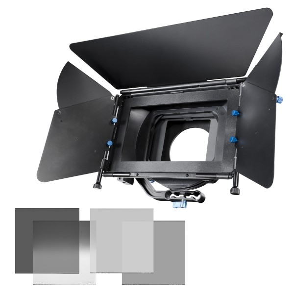 Walimex Pro Matte Box Director II Kit + Graufilter