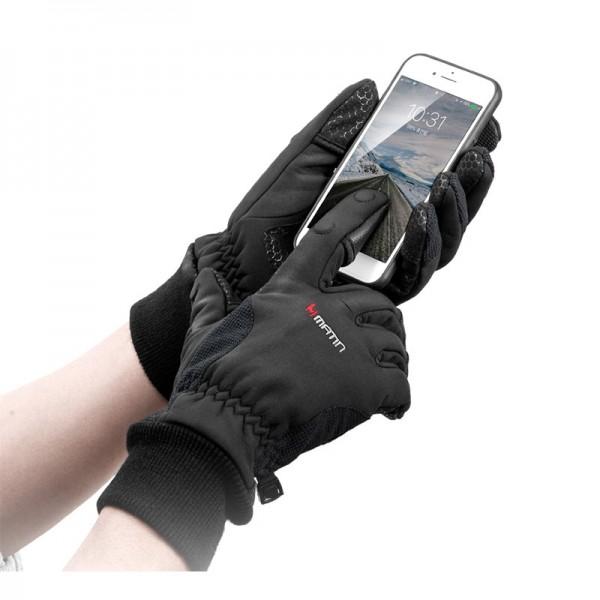 Matin LSG 22 wind- und wasserabweisende Fingerhandschuhe zum Fotografieren