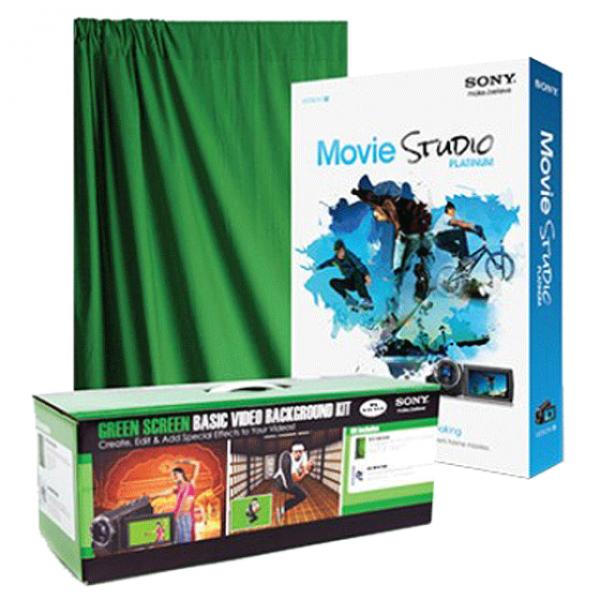 Basic Green Screen Video Background Kit
