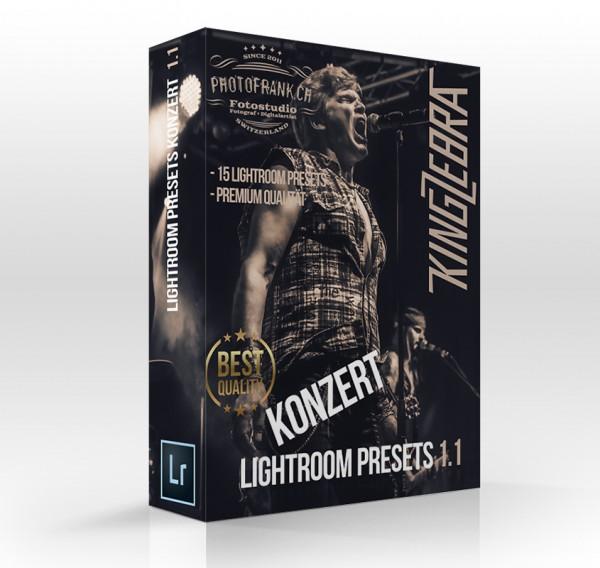 Lightroom Presets - Konzert 1.1