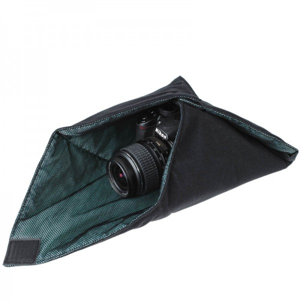 X-Wrap Einschlagtuch 40 x 40 cm - z.B. für kleine DSLR-Kameras inkl. Objektiv oder Tablet-PCs (iPad)