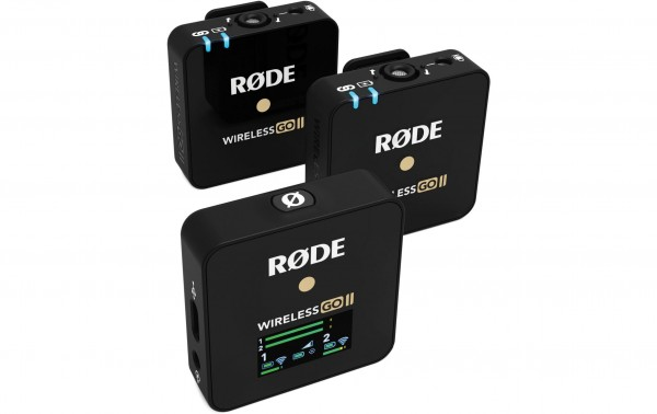 Rode Wireless GO II - kompaktes UHF-Drahtlos-Mikrofonsystem