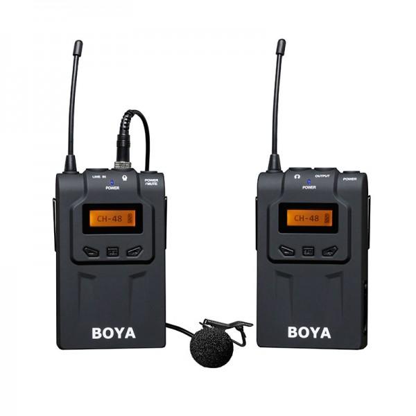 Boya BY-WM6 Funkstrecke für die mobile und kabellose Tonaufzeichnung