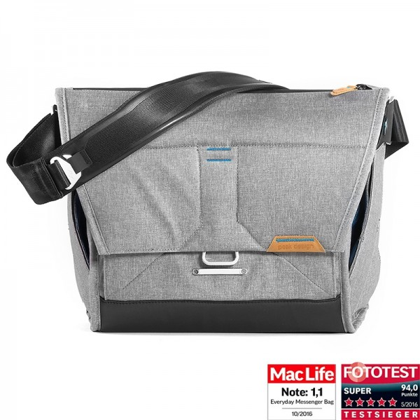 Peak Design Everyday Messenger Bag 13 Ash Fototasche - helllgrau