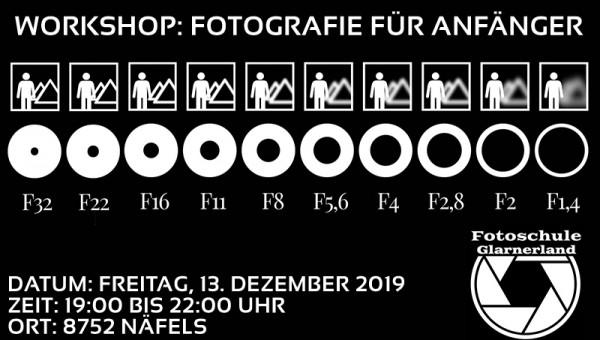 Workshop: Fotografie für Anfänger am 13.11.2019