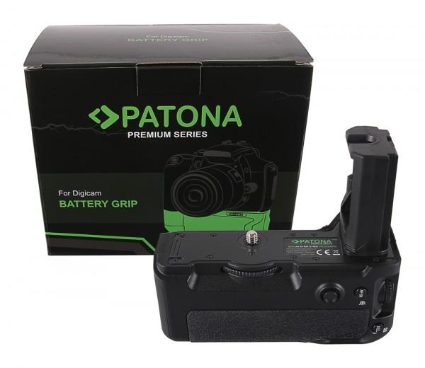 Patona Premium Batteriegriff für Sony Alpha A7MIII A7RIII A7III A9 VG-C3EM für 2 x NP-FZ100 Akkus