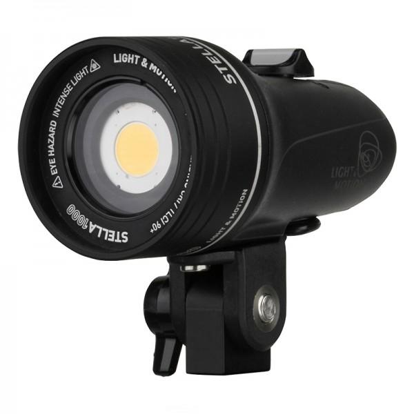 Light & Motion Stella 1000 - Kompakte LED-Aufsteckleuchte mit 1000 lm Lichtleistung und CRI 90