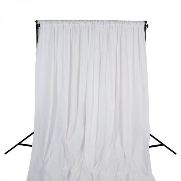 Quenox Hintergrundstoff 300 x 600 cm 160 g/m2 weiss