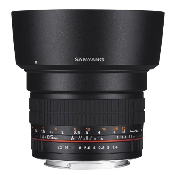 Samyang Objektiv 85/1,4 DSLR Sony E