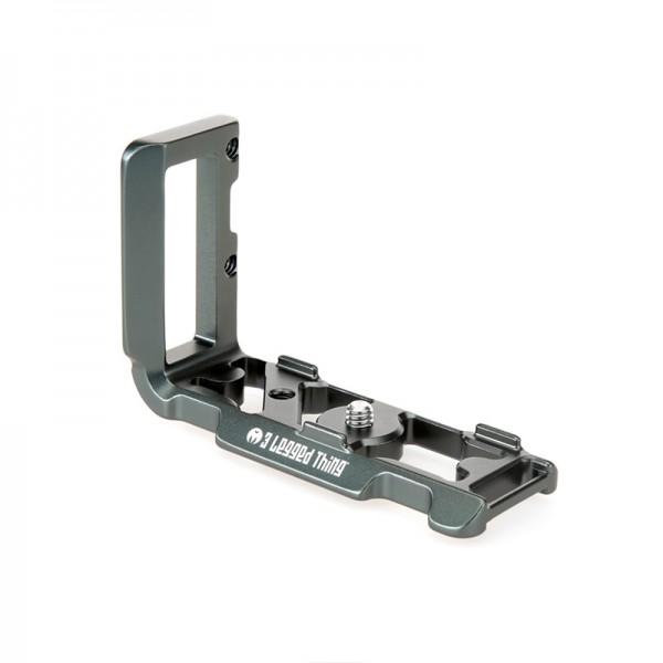 3 Legged Thing ZAYLA Grey (Grau) - Arca kompatibler L-Winkel für Nikon Z50