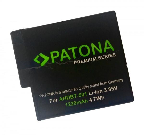 Patona Akku für GoPro Hero 5 & 6 Black AABAT-001 AHDBT-501