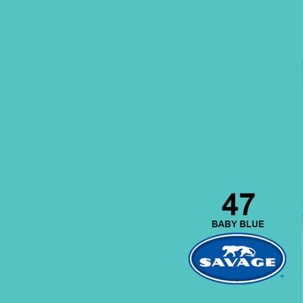 Savage Baby Blue 11 x 2.72 m Hintergrund Rolle