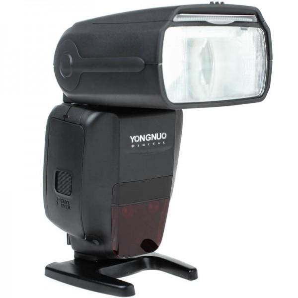Yongnuo Speedlite YN600EX-RT II Blitzgerät für Canon mit TTL, HSS, SCS, integriertem Master-Funkausl