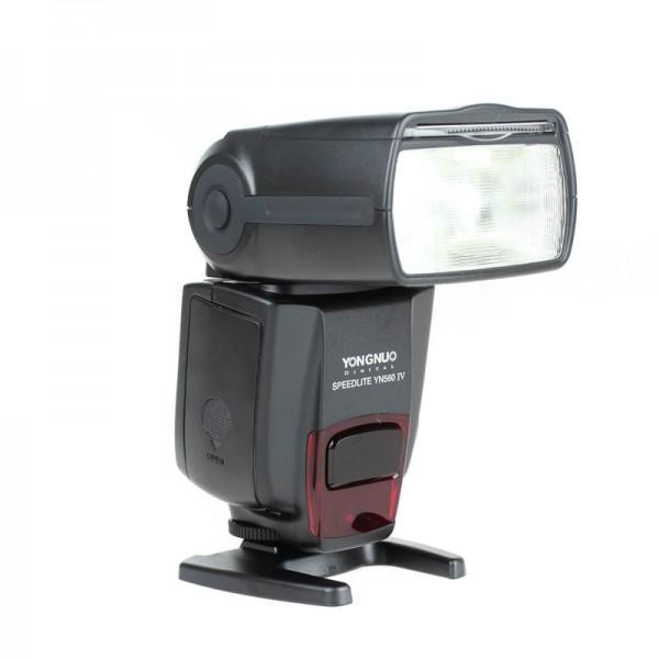 Yongnuo Blitzgerät Speedlite YN560-IV mit Funk-Empfänger & Steuereinheit für Canon, Nikon und Stand