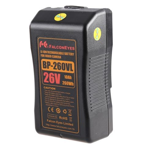 Falcon Eyes V-Mount Akku 260Wh 26V 10000mAh