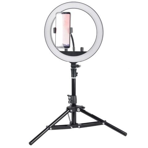 Neewer Ringleuchten Set mit 48 cm 55W LED RinStudioKing Bi-Color LED Ringlampe Set SKRL10gleuchte, S