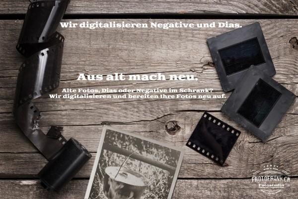 Negative und Dias digitalisieren