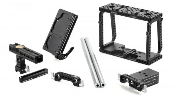 Wooden Camera BMC Kit (Pro) - Camera Cage, Mini Baseplate, NATO Handle Kit