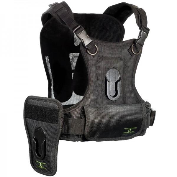 Cotton Carrier Camera Harness-2 Brustgeschirr als Tragesystem für 2 Kameras