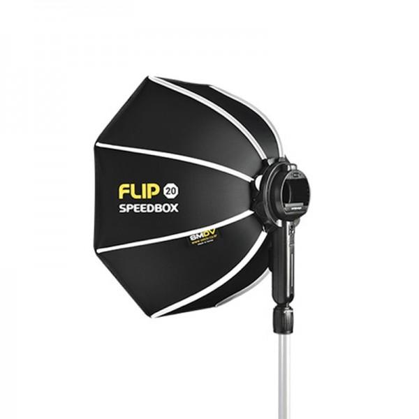 Speedbox-Flip 20 Faltbare Softbox mit Speedlite-Adapter