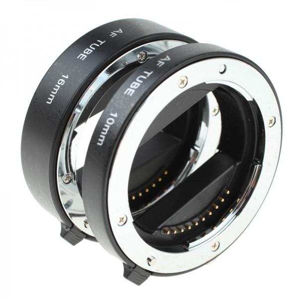 Quenox Autofokus-Zwischenringe für Sony (NEX/Alpha) E-Mount Modelle